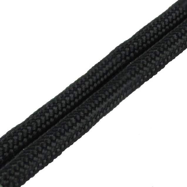 Paracord Boot Laces Black 182cm