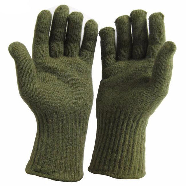 US Army Woolen Insert Gloves - New