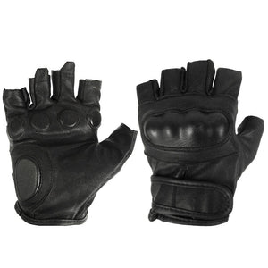 Fingerless Reinforced Leather Gloves