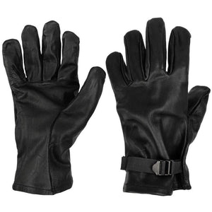Belgian Army Leather Gloves