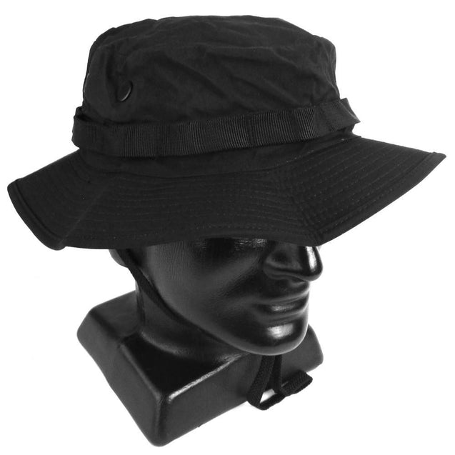 Black Waterproof Boonie Hat