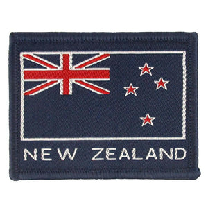 New Zealand Flag Embroidered Patch