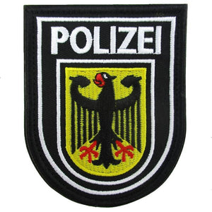 German Polizei Embroidered Patch