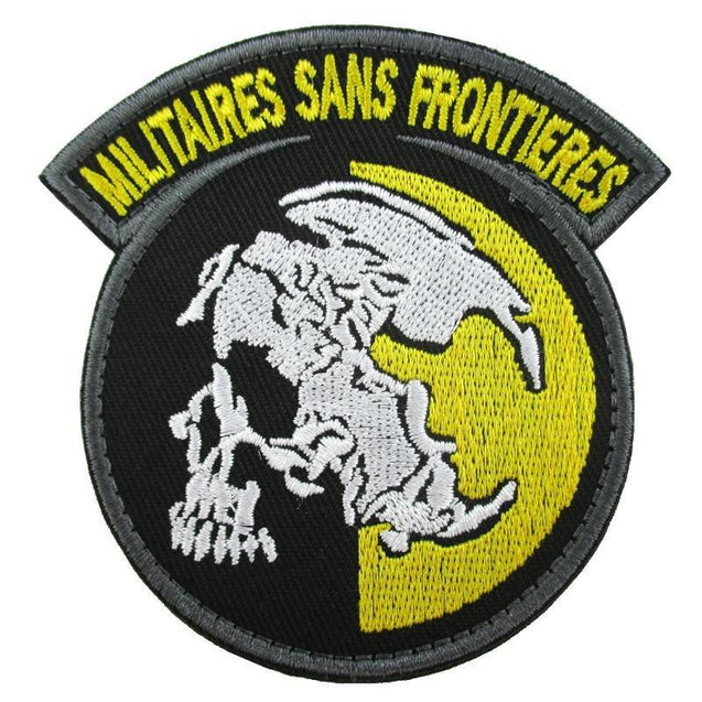 Militaires Sans Frontieres Embroidered Patch