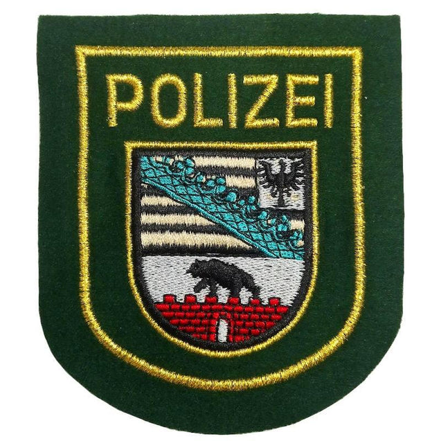 Saxony-Anhalt Polizei Embroidered Patch
