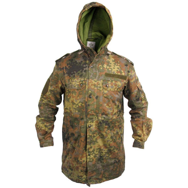 German Flecktarn Parka - No Liner