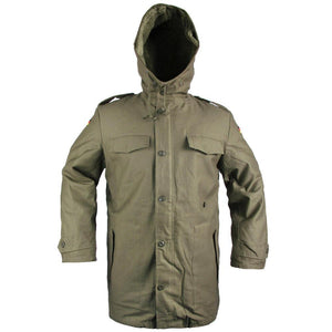 German Style Olive Drab Parka