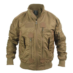 Coyote Tactical Flight Jacket