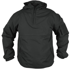 Tactical Fleece Lined Anorak - Black