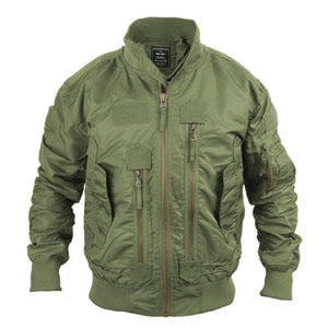 Olive Drab Tactical Flight Jacket