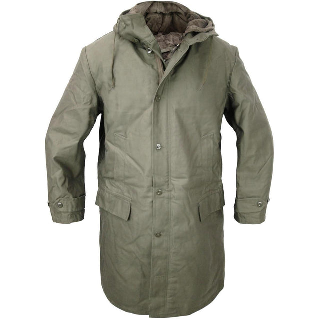 German OD Long Lined Parka - New