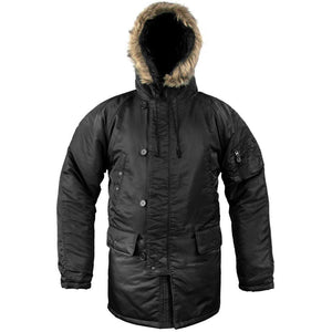 N3B Cold Weather Parka - Black