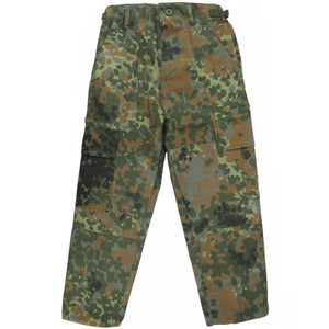 Kids Flecktarn BDU Trousers