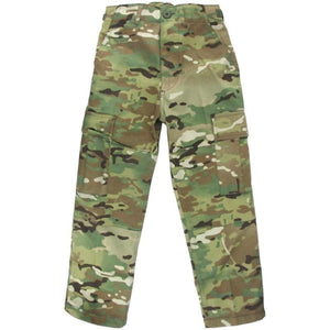 Kids Multitarn BDU Trousers
