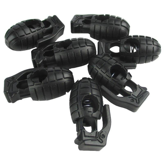 Grenade Draw Cord Lock - Pack of Four