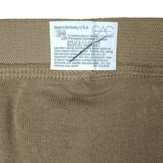 US Army Tan Briefs - New