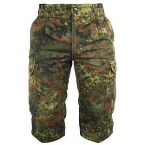 German Army Flecktarn Shorts