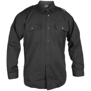 Black Ripstop Field Shirt