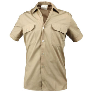 German Army Khaki Service Shirt