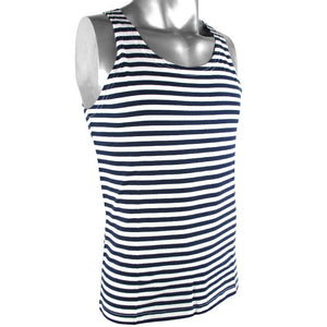 Russian Navy Style Striped Tank Top