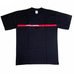 French Fireman Sapeurs Pompiers T-Shirt