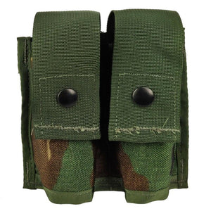 US Military Double 40MM HE High Explosive Grenade MOLLE Pouch *NEW Coyote