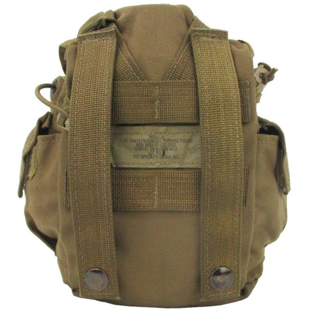 USMC Coyote MOLLE Canteen Pouch