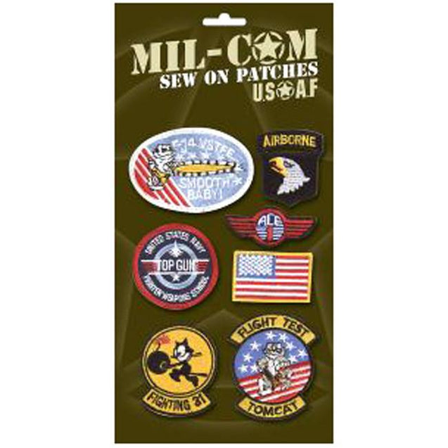 USAF Patches - Set of 7