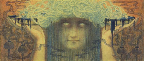 Jean Delville Light of The Occult