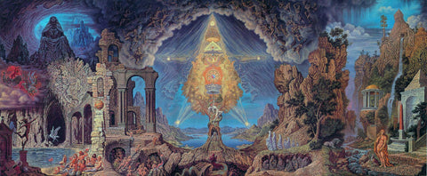 Johfra Bosschart Occult Surrealist