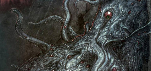 H.P. Lovecraft Illustrated Gods and Monsters