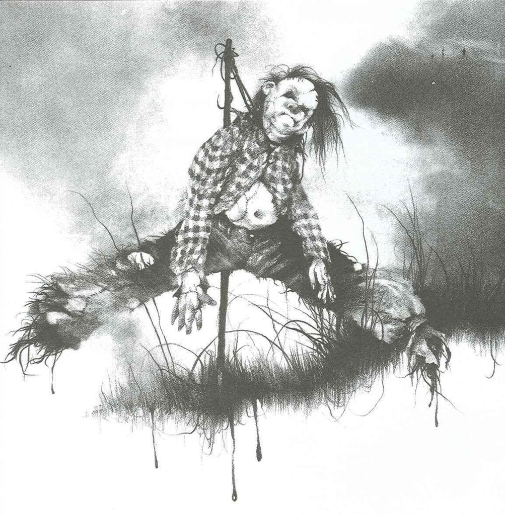 Harold scary stories to tell in the dark
