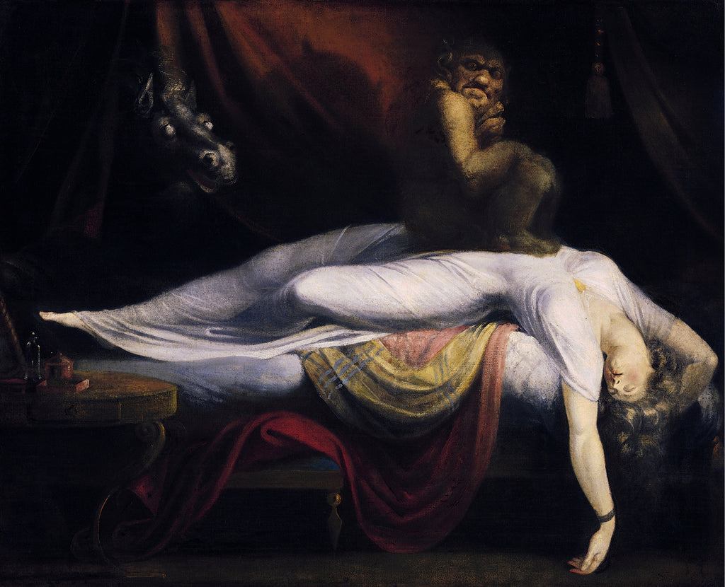 The nightmare painting The Nightmare by Henry Fuseli