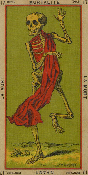 The Etteilla Tarot, The Book of Thoth death