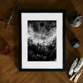 Dark Art Framed Poster Print