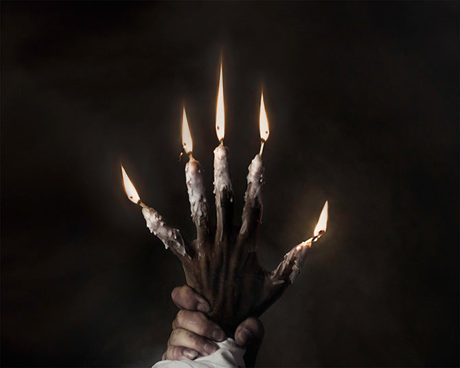 hand of glory occult photo
