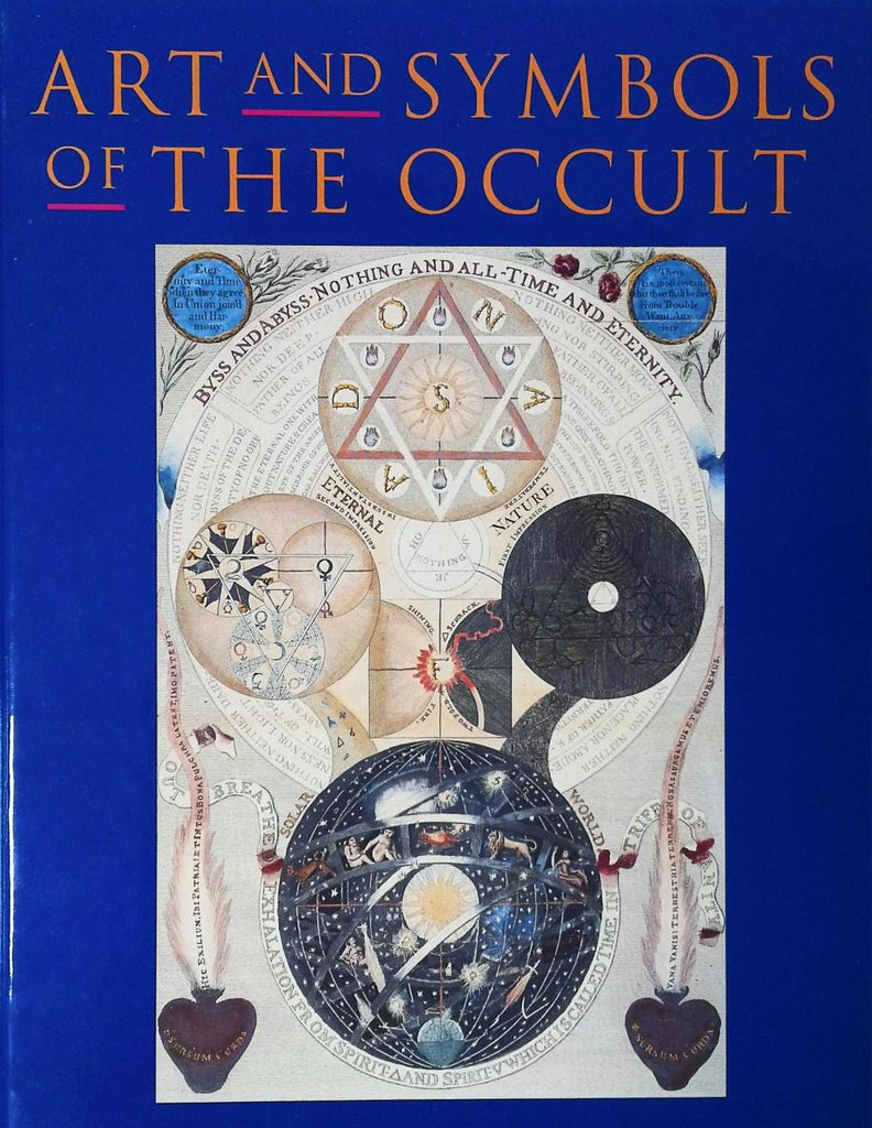 occult symbol dark art books