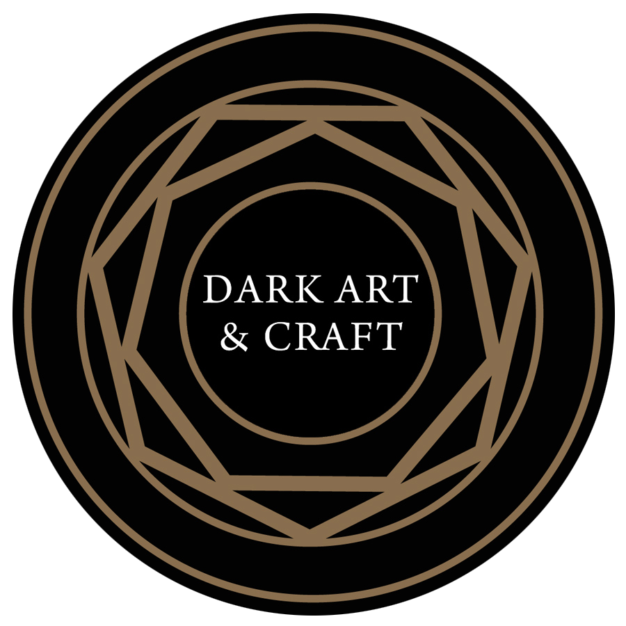 dark art and craft logo