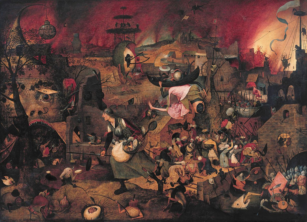 Dulle Griet hell painting