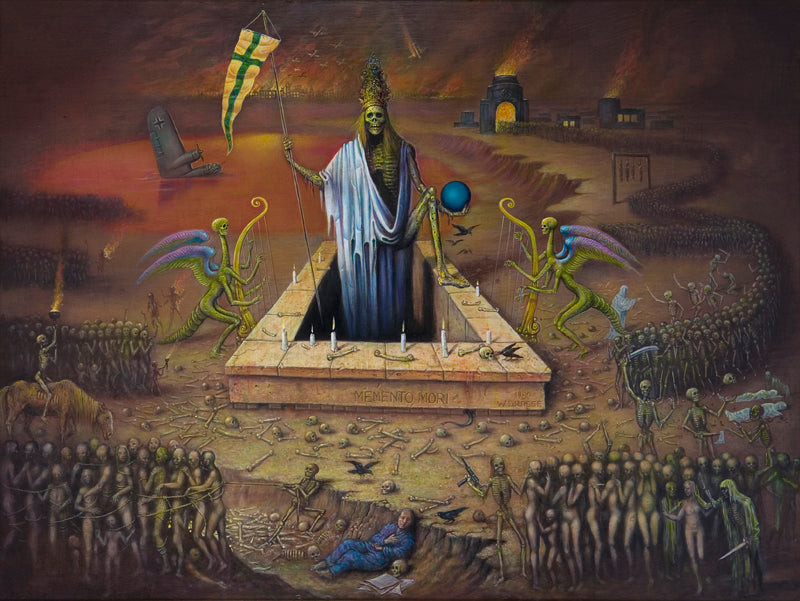 the triumph of death modern painting