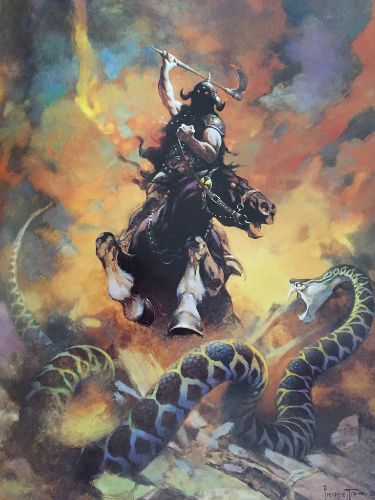 Death Dealer VI, Frank Frazetta 1996