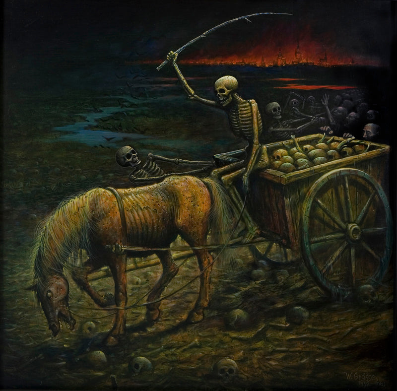 horror art painting surreal