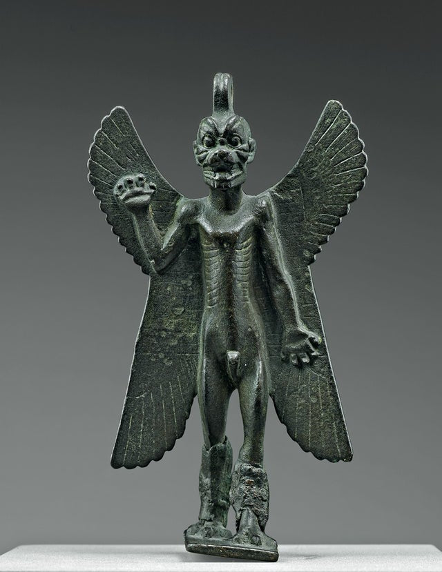Statuette of the demon Pazuzu, Mesopotamia, 8th/7th BCE