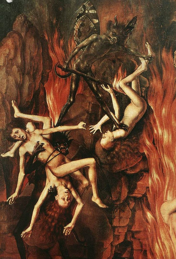 The Last Judgment is a triptych attributed to Flemish painter Hans Memling