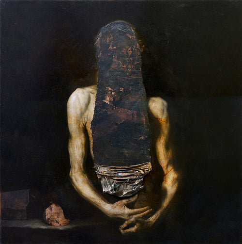 Nicola Samori's dark, Baroque-inspired oil paintings