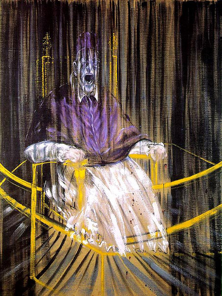 Francis Bacon, Study after Velazquez's Portrait of Pope Innocent X