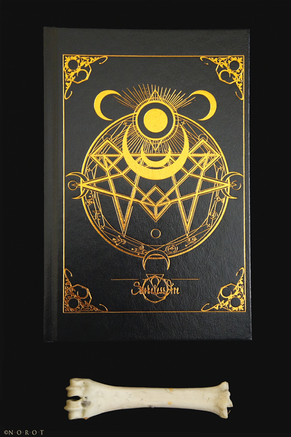 occult book design