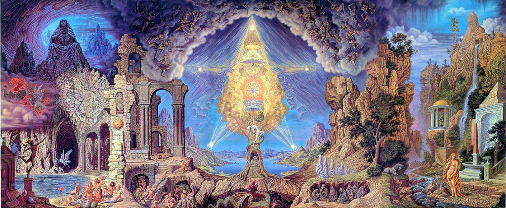 Unio Mystica by Johfra Bosschart dark occult artist