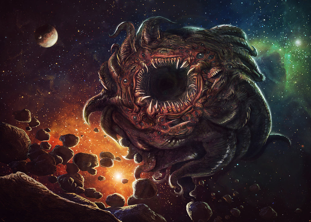 Azathoth is a deity in the Cthulhu Mythos and Dream Cycle stories of H. P. Lovecraft