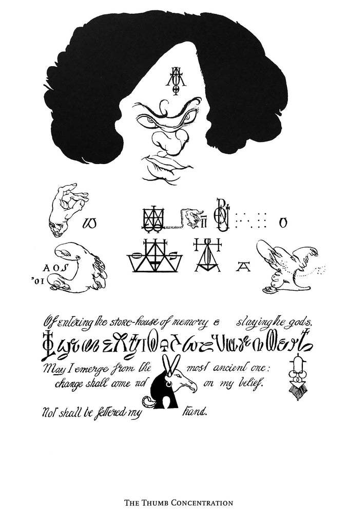 Austin Osman Spare sigils illustrated